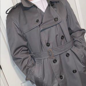 Men's 54 Short Burberry Trench Coat